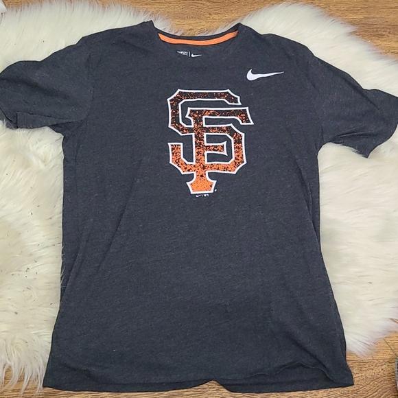 Nike SF Giants tshirt gray size medium MLB